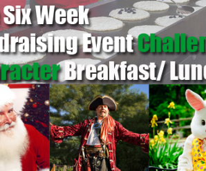 6 Week Fundraising Event Challenge: Character Breakfast/Lunch
