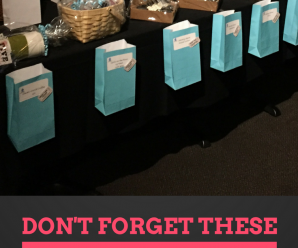 Don't forget these Tricky Tray Supplies!