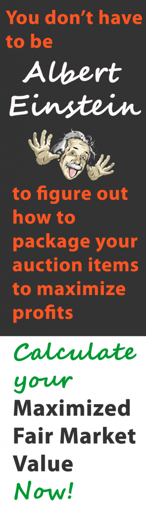 Your Guide to Finding Fair Market Value for Auction Items www.UltimateDonations.org