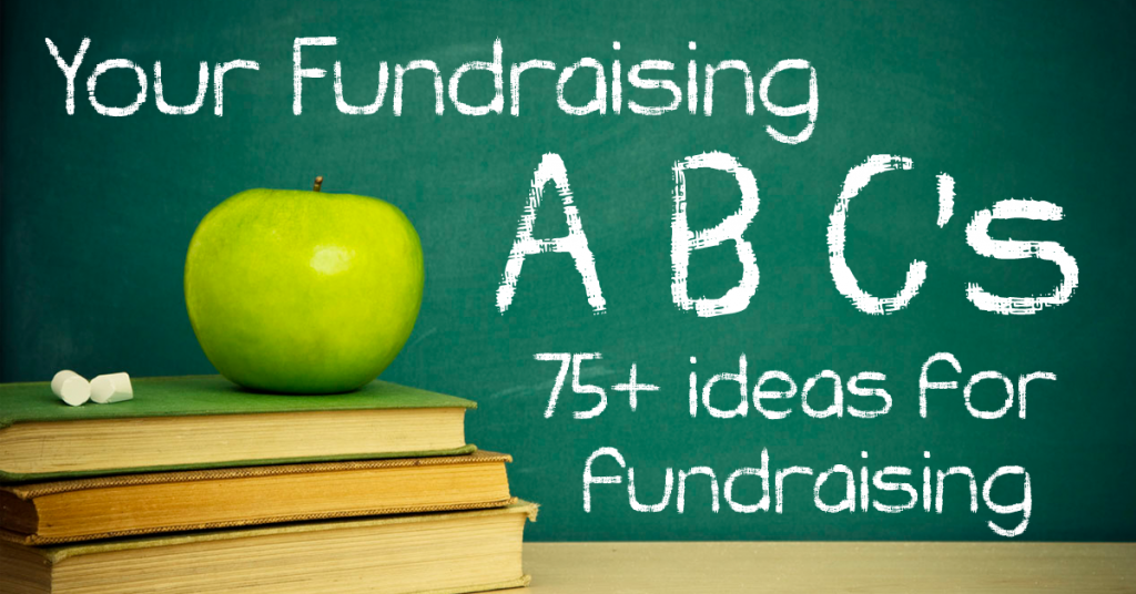 UltimateDonations.org - Over 75 unique fundraising ideas from A-Z