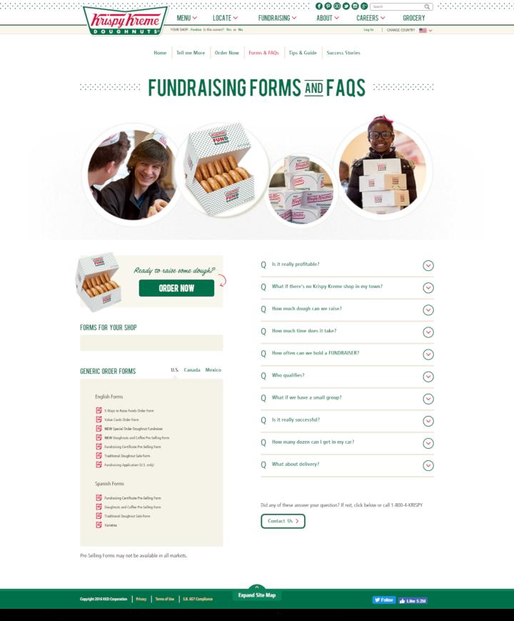 Product Donation Guide: Krispy Kreme (Fundraiser)