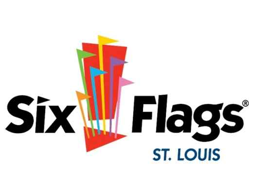 Six Flags St. Louis Logo - https://www.sixflags.com/stlouis