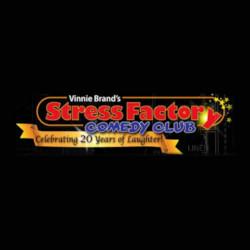 Stress Factory Comedy Club Logo - http://stressfactory.com